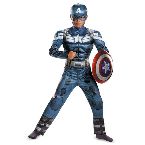 Image of Kids Captain America Costume
