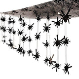 12 Ft. - Plastic Spider Ceiling Decoration