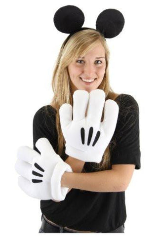 Image of Disney Mickey Mouse Ear and Glove Adult Set