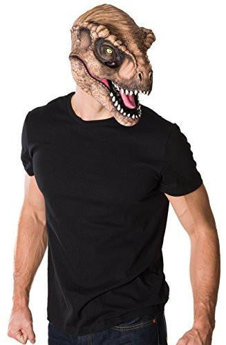 Men's Jurassic World T-Rex 3/4 Mask