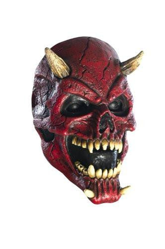 Horned Skull Latex Mask