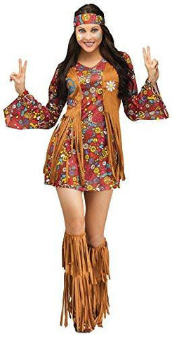 Image of Women's Peace Love Hippie Costume