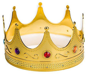 Gold King/Queen Crown