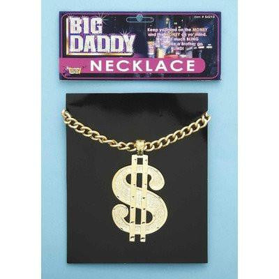 Image of Necklace Dollar Sign Jumbo