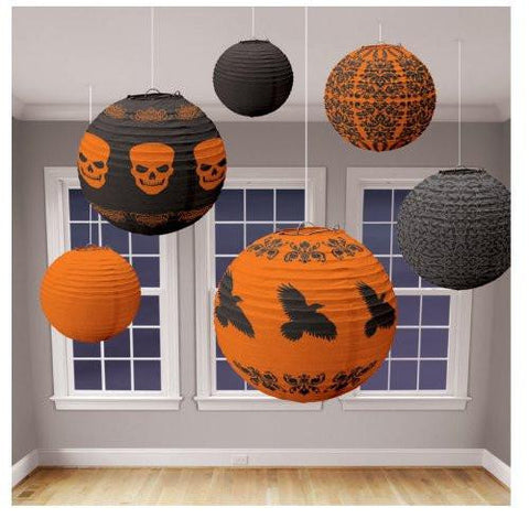 Halloween Lantern Value Pack Asst. (6 count)