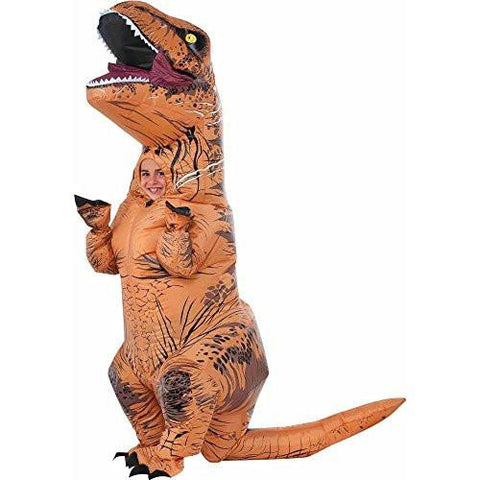 Image of Jurassic World T-Rex Inflatable Kids Costume