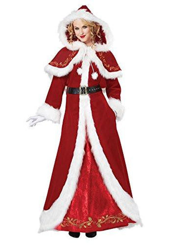 Image of Mrs. Claus fancy dress