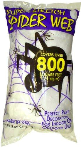 Fake Spider Web Halloween 800sqft