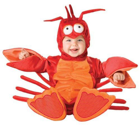 Baby's Lil' Lobster Costume, Red/Orange, Small (6-12 Months)