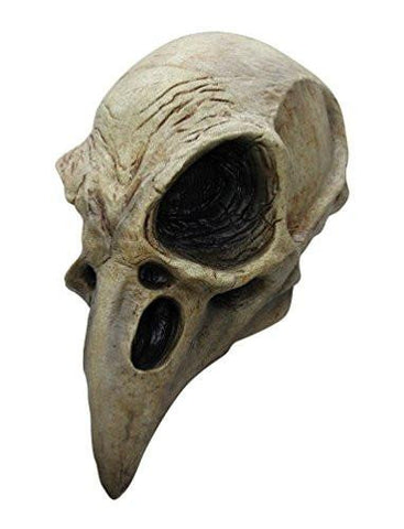 Crow Skull Latex Adult Mask