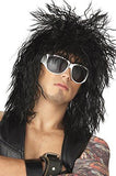 Rocking Dude Wig, Black, One Size