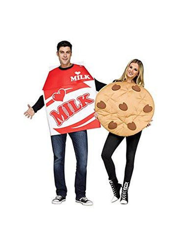 Image of Unisex Milk & Cookie Couples Costume