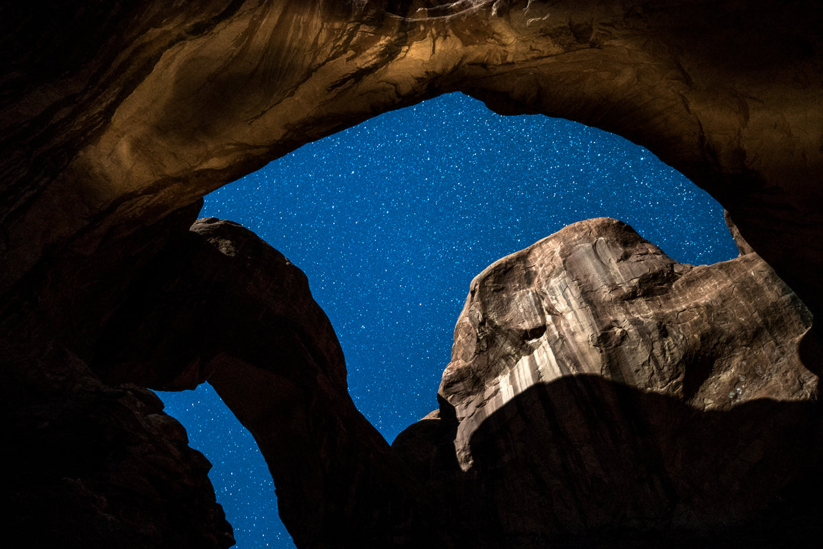Two Blue Arches, Utah