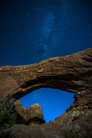 Blue Window Arch, Utah