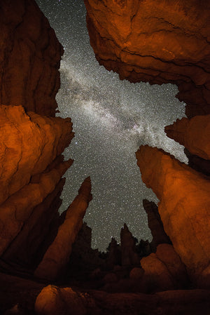 Milky Way Above Hoodoos, Utah