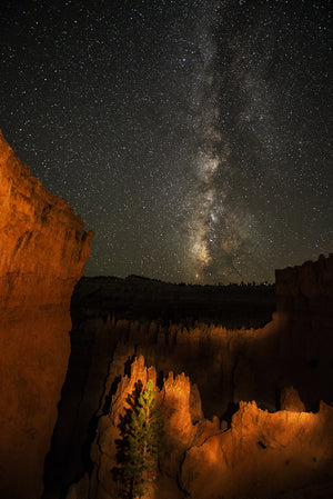 Milky Way Over Bryce Canyon, Utah