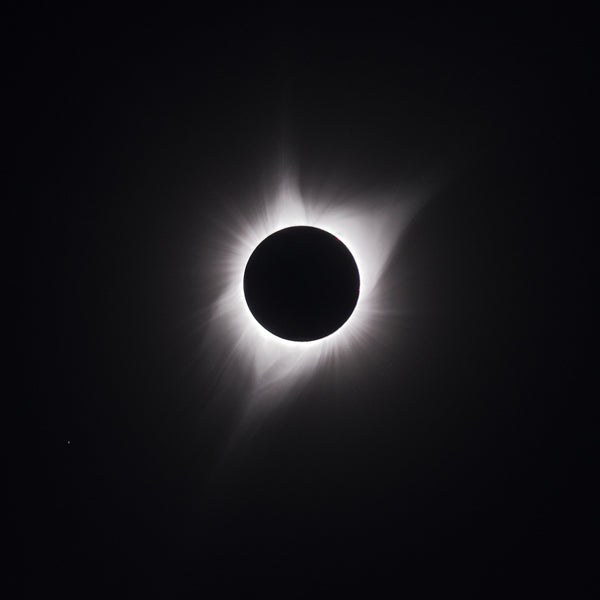 The Total Solar Eclipse, Wyoming