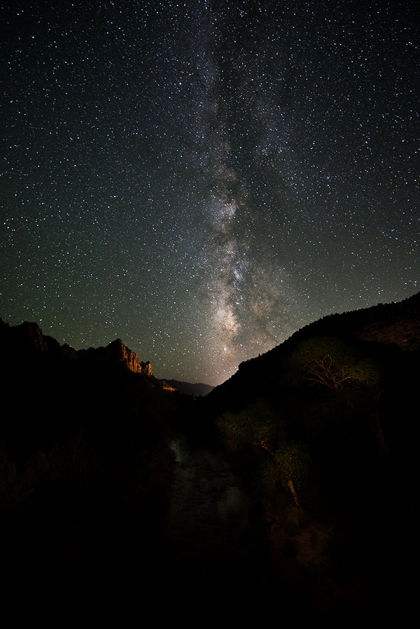 Zion Milky Way 2, Utah