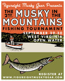 3rd Annual Musky in the Mountains- Registration
