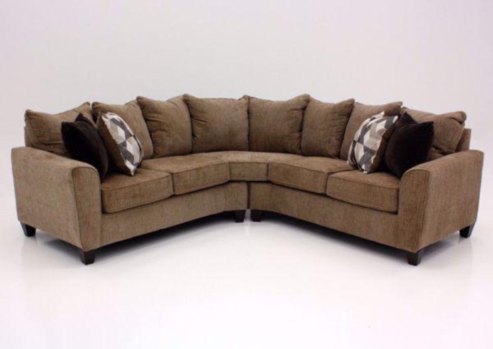 WEEKLY or MONTHLY. Reed Ford Tan Sectional
