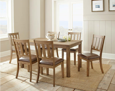 WEEKLY or MONTHLY. Anderson Dining Table & 6 Side Chairs