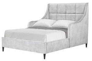 WEEKLY or MONTHLY. Charlie Light Gray Upholstered Youth Bed