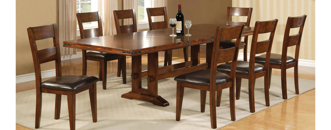 WEEKLY or MONTHLY. Hayward Dining Table & 6 Side Chairs