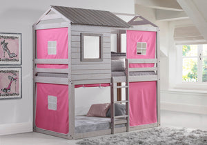 WEEKLY or MONTHLY. Hey Deer Blink Bunk Loft with Pink Tent