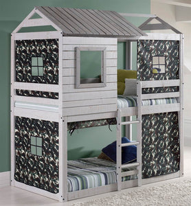 WEEKLY or MONTHLY. Hey Deer Blind Bunk Loft with Camo Tent