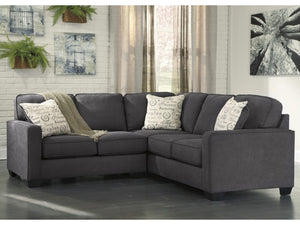 WEEKLY or MONTHLY. Alenya Charcoal Expanded Sectional