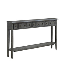 WEEKLY or MONTHLY. Sadie Grey Long Livingroom Console