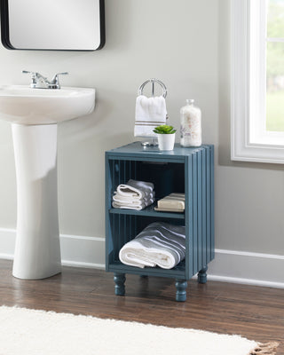 Elma Hurst Crate Blue Table