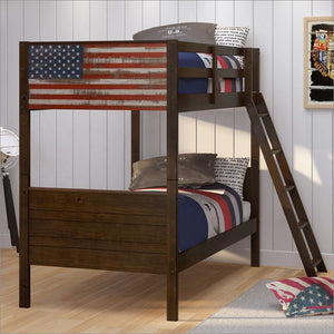 WEEKLY or MONTHLY. Be a Patriot Twin over Twin Bunk Bed