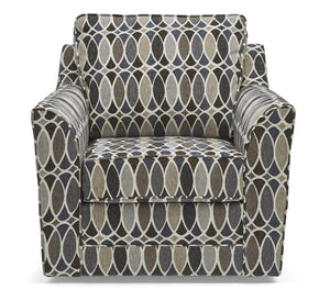 WEEKLY or MONTHLY. Deco Shapes Shale Swivel Chair