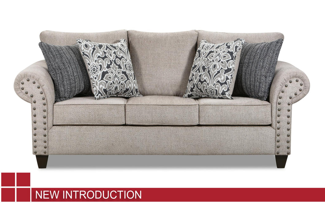 WEEKLY or MONTHLY. Brave Nailhead Ranger Couch Set