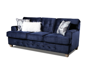 WEEKLY or MONTHLY. Big Shot Navy Couch Set