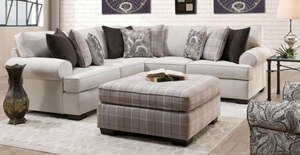 WEEKLY or MONTHLY. Captain Cooper Sectional