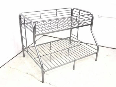 WEEKLY or MONTHLY. Glorious Silver Bunkbeds
