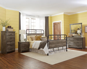 WEEKLY or MONTHLY. Strong Metal Gabriel Bedroom Group