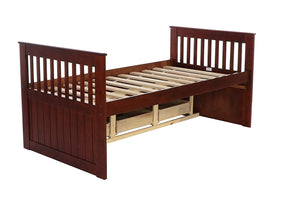 WEEKLY or MONTHLY. Twin Mission Rake Bed