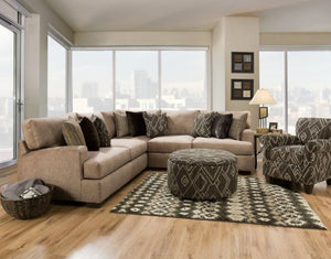 WEEKLY or MONTHLY. Alton Mock Sectional