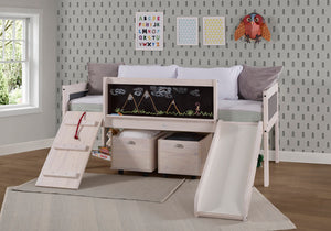 WEEKLY or MONTHLY. Twin Artful Play Junior Low Loft + Toy Boxes