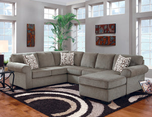 WEEKLY or MONTHLY. Aztec Super Cocoa Sectional