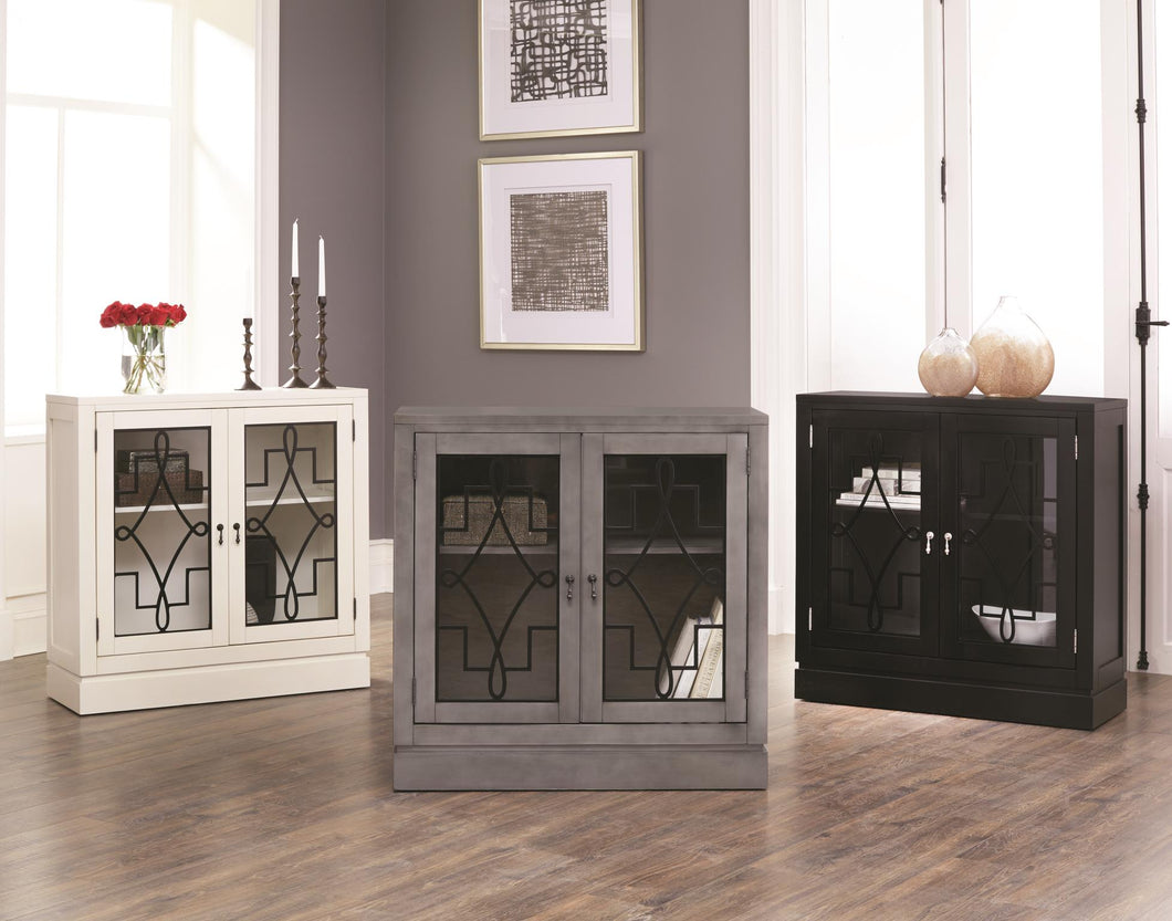 WEEKLY or MONTHLY. Double Door Beauty Modern Accent Console