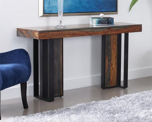 WEEKLY or MONTHLY. Sierra Sheesham Wood Sofa Console