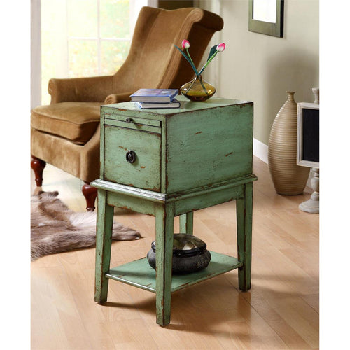 Bayford Green Chairside Table
