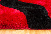 3D Shag 802 Red Rug
