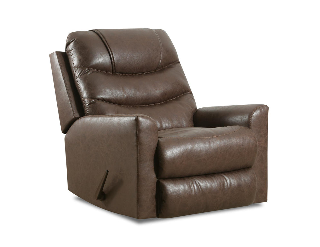 WEEKLY or MONTHLY. Barnette Choco POWER Rocker Recliner