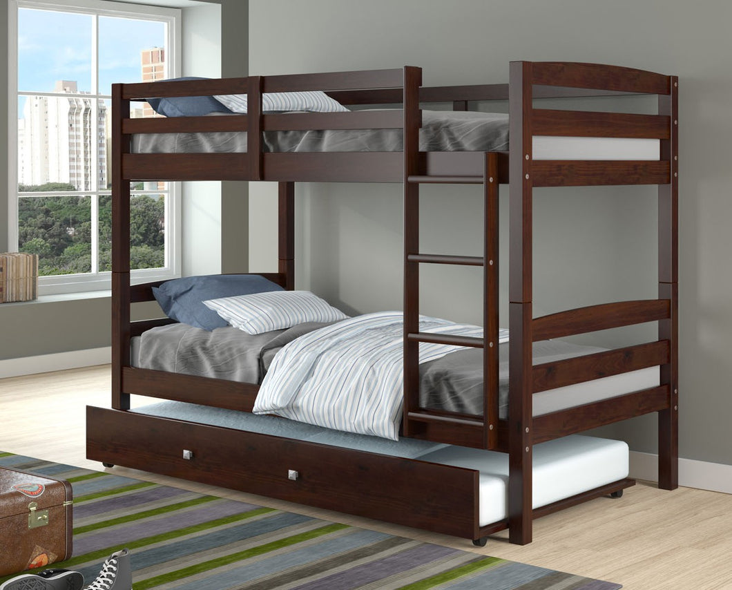 WEEKLY or MONTHLY. Twin over Twin Devon Bunkbed
