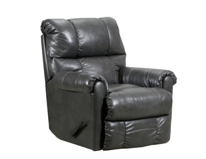 WEEKLY or MONTHLY. Soft Touch Genuine Leather POWER Rocker Recliner in Chaps